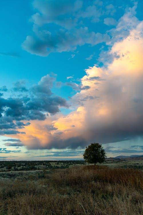 bulut, çevre, doğa, gün batımı içeren Ücretsiz stok fotoğraf