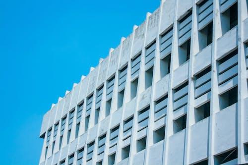 Foto d'estoc gratuïta de barri, blanc, bloc de pisos, Canon
