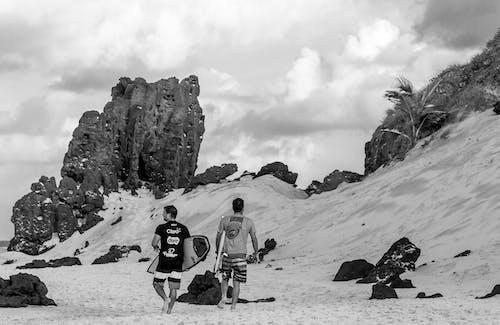 Foto stok gratis batu, laki-laki, lansekap, lanskap