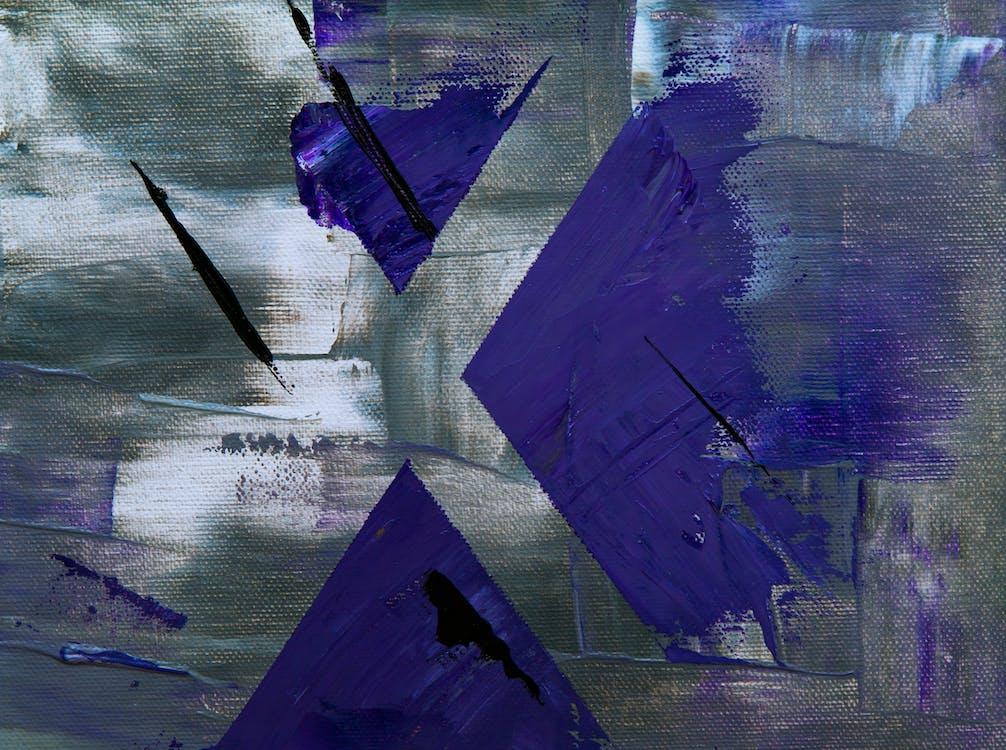 ábra, absztrakt festmény, akril