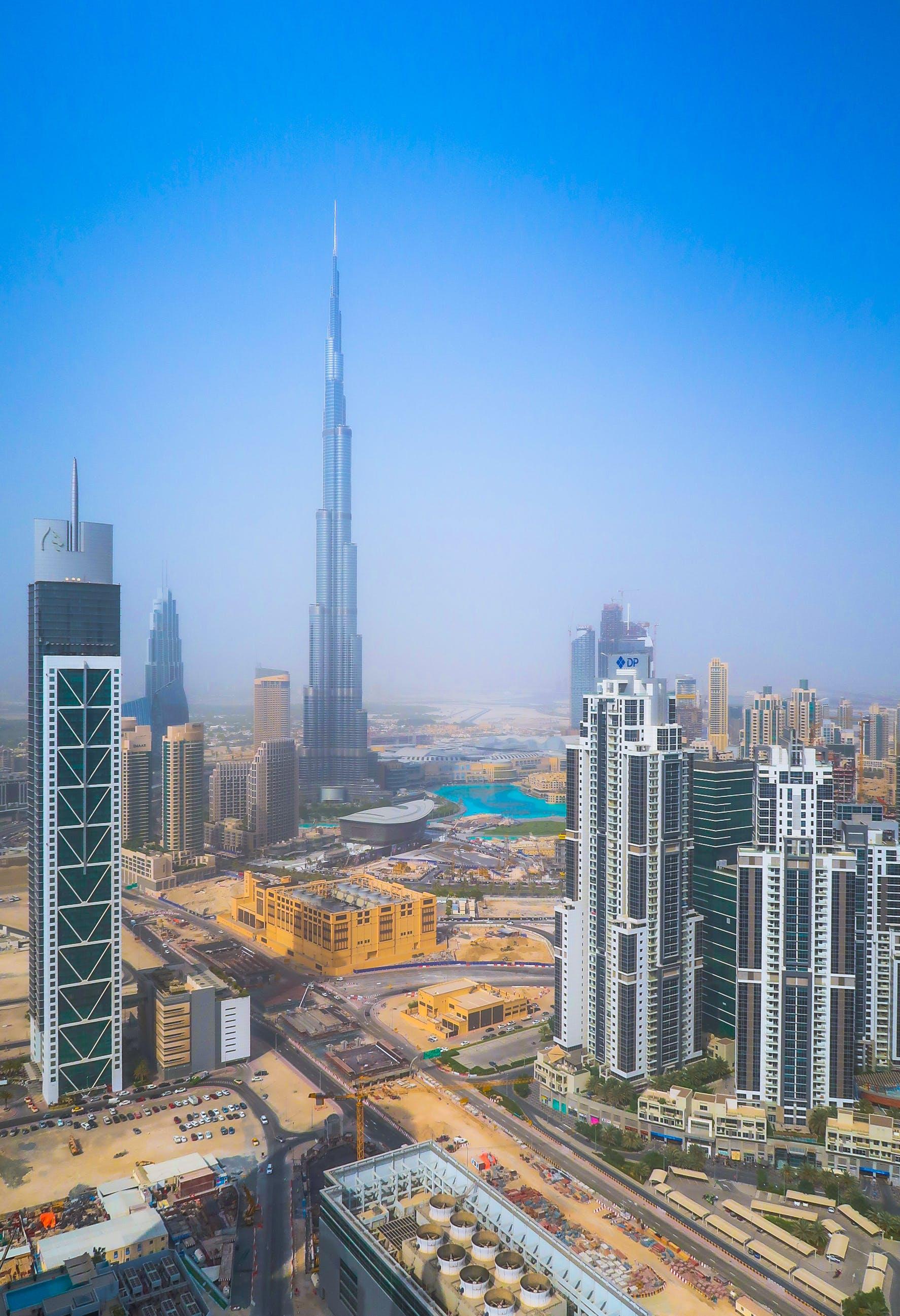 Ingyenes stockfotó Burdzs Kalifa, dubaj, építészet, épületek témában