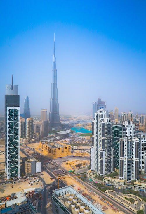 Foto d'estoc gratuïta de alt, arquitectura, burj khalifa, ciutat