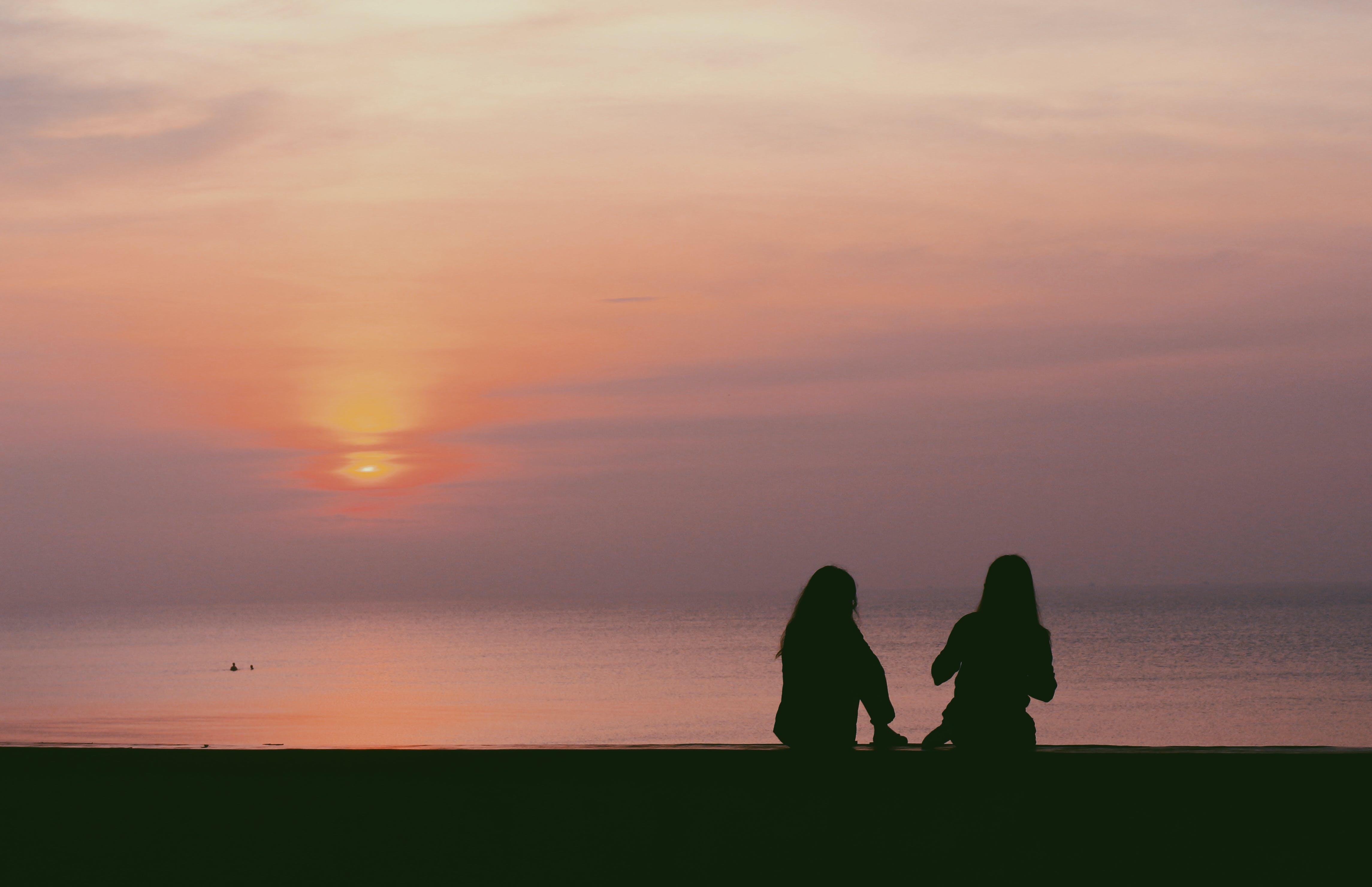 Free stock photo of asian girl, beach, dawn, do son