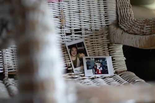 Photos On Woven Chair