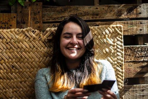 Free stock photo of girl, laugh, smile