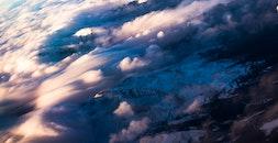 light, bird's eye view, landscape