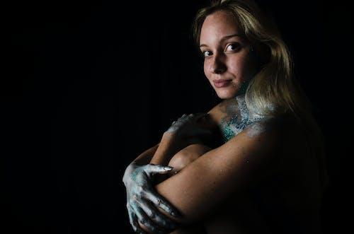 塗料, 模特兒, 照片, 美女 的 免费素材照片