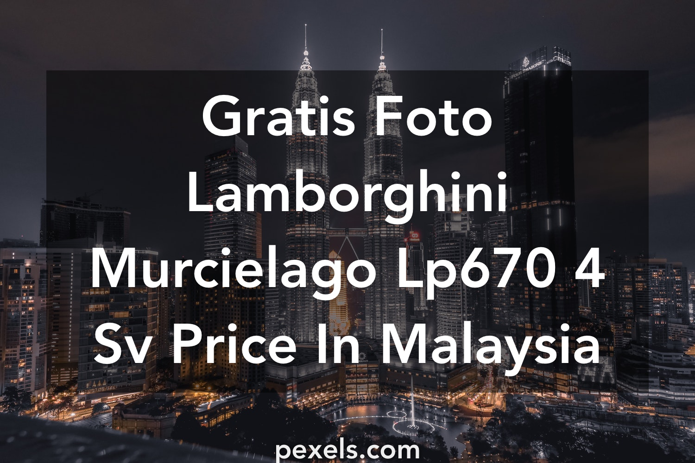 50 Lamborghini Murcielago Lp670 4 Sv Price In Malaysia Foto