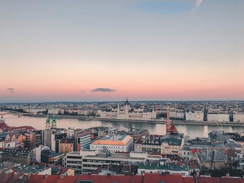 全景, 匈牙利, 匈牙利議會大樓, 城市 的 免费素材照片