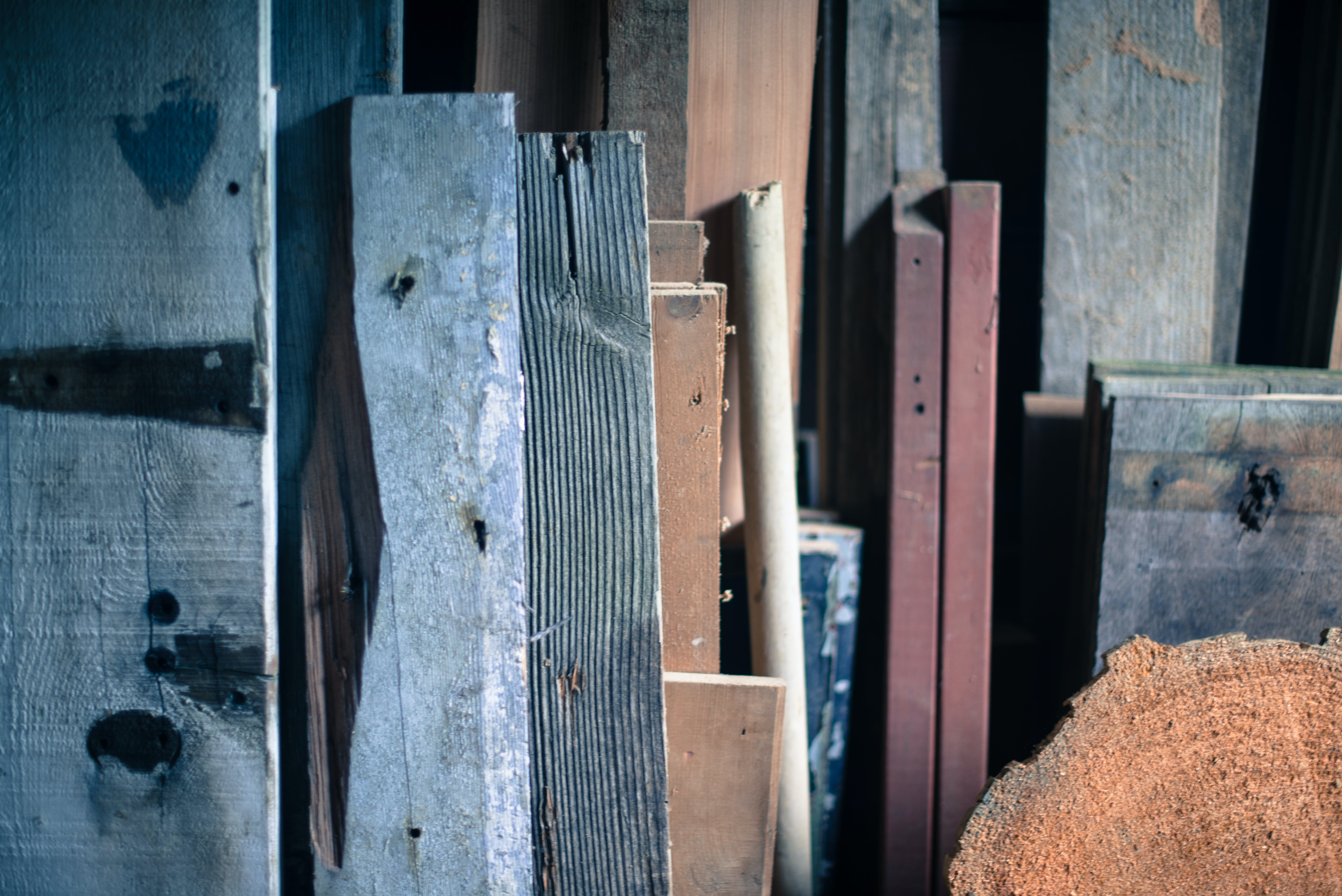 Architectural Photography of Wooden Plank