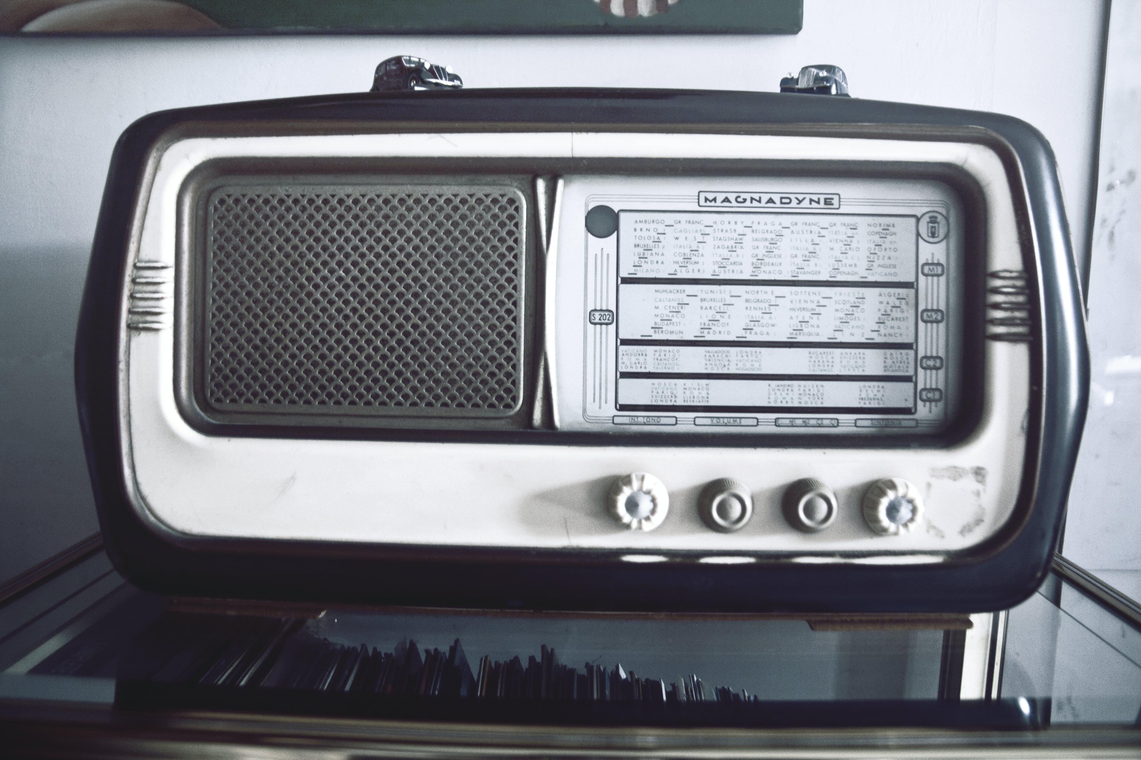 music, old, radio