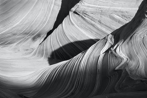 çöl, Desen, eğri, kanyon içeren Ücretsiz stok fotoğraf