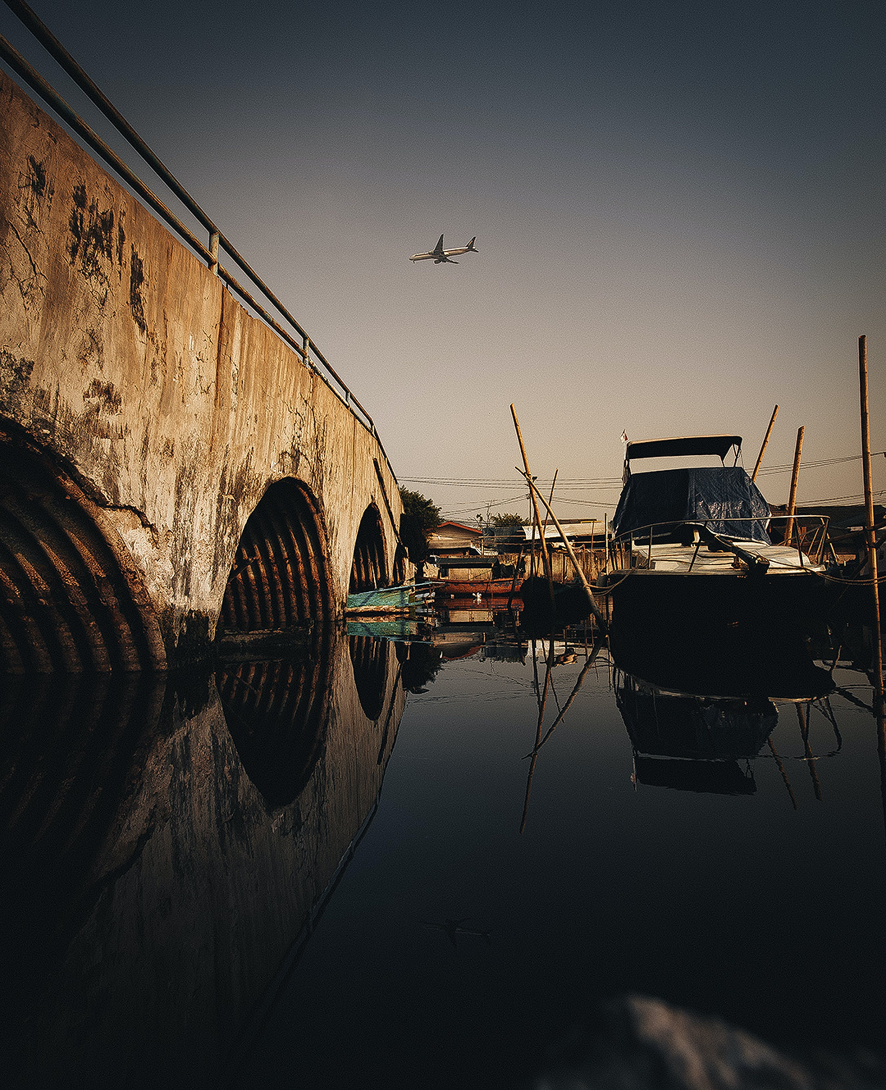 Boat on a Dock