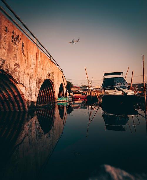 Ingyenes stockfotó alagút, csatorna, csónakok, dokk témában