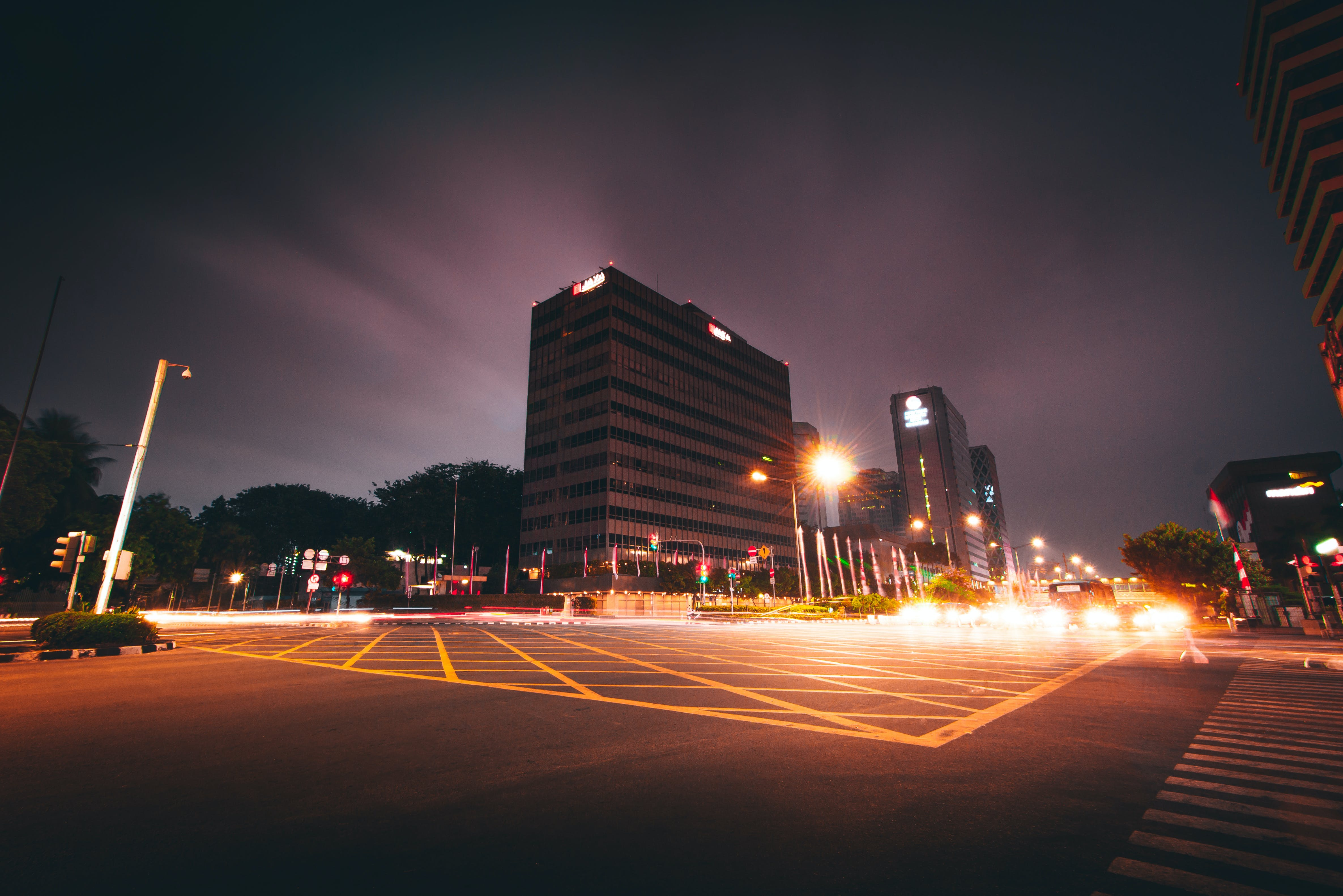 Landscape Photography of Intersection