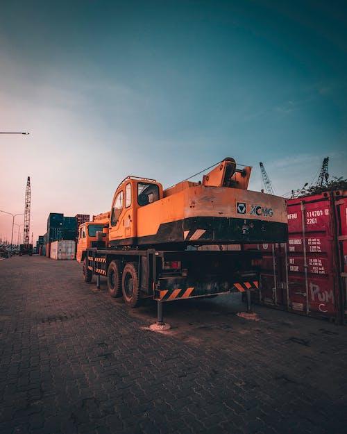 Orange Heavy Equipment