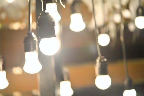 Free stock photo of bulbs, dancing lights, miscellaneous