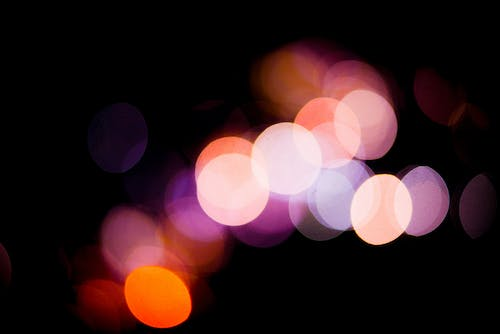 Free stock photo of blurred background, blurry background, city lights, gold-tone