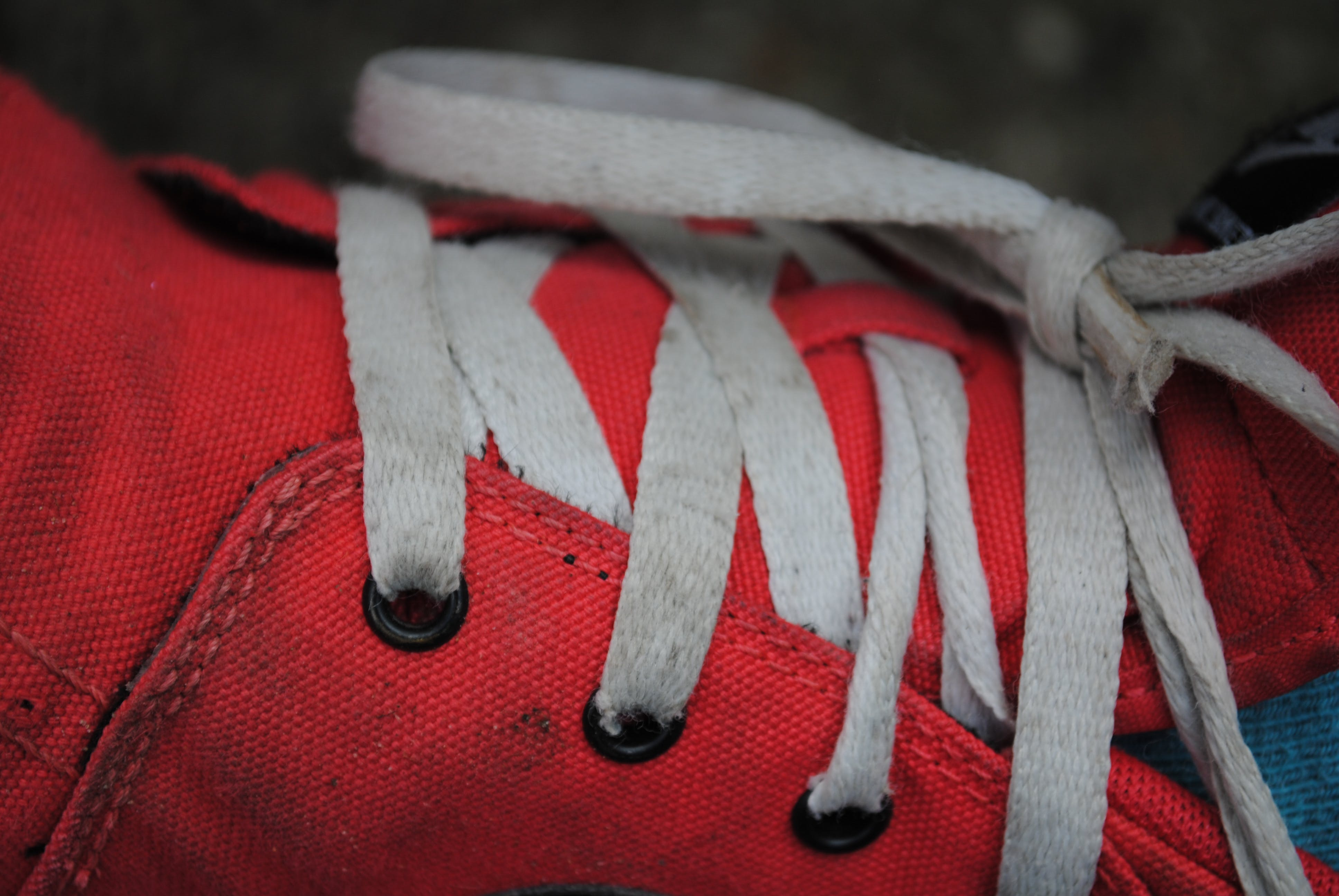 Free stock photo of fashion, footwear, knot, lace