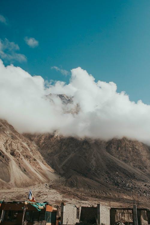 คลังภาพถ่ายฟรี ของ ท้องฟ้า, ท้องฟ้าสีคราม, ภูเขา, เทือกเขาหิมาลัย