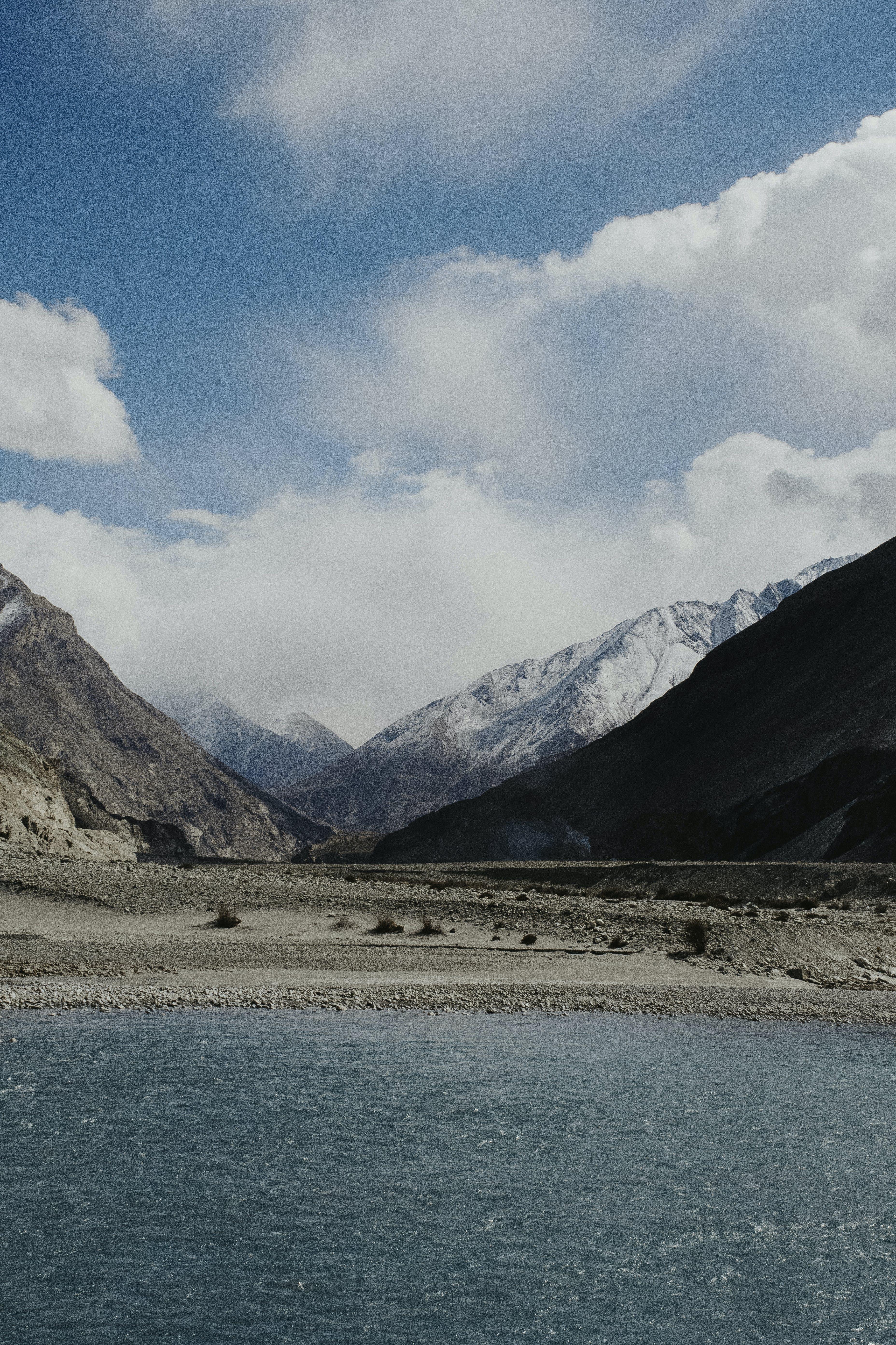 Free stock photo of beautiful, blue mountains, himalaya, india