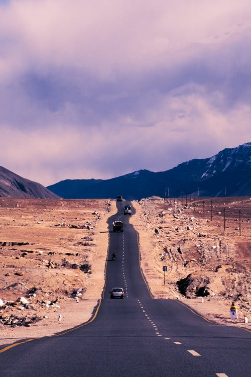 Photos gratuites de autoroute, indien, montagnes, réussite