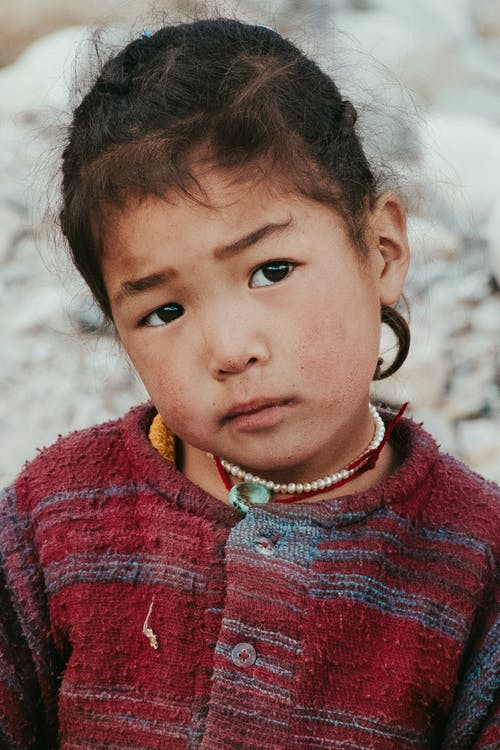 インド, インドの女の子, 山岳の無料の写真素材