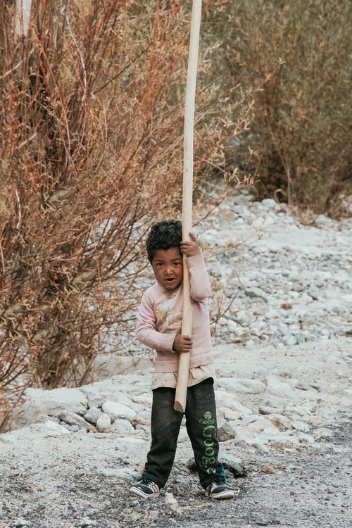 いたずら, インド人の少年, 山岳の無料の写真素材