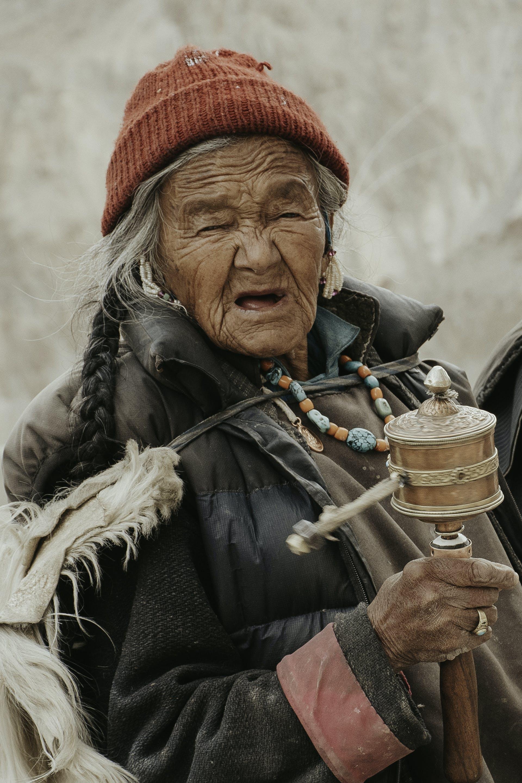 Free stock photo of india, monk, mountains