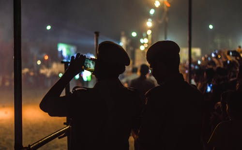 Immagine gratuita di #diwali, #folla, #india, #notte