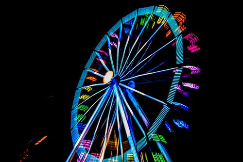 Multicolored Ferris Wheel