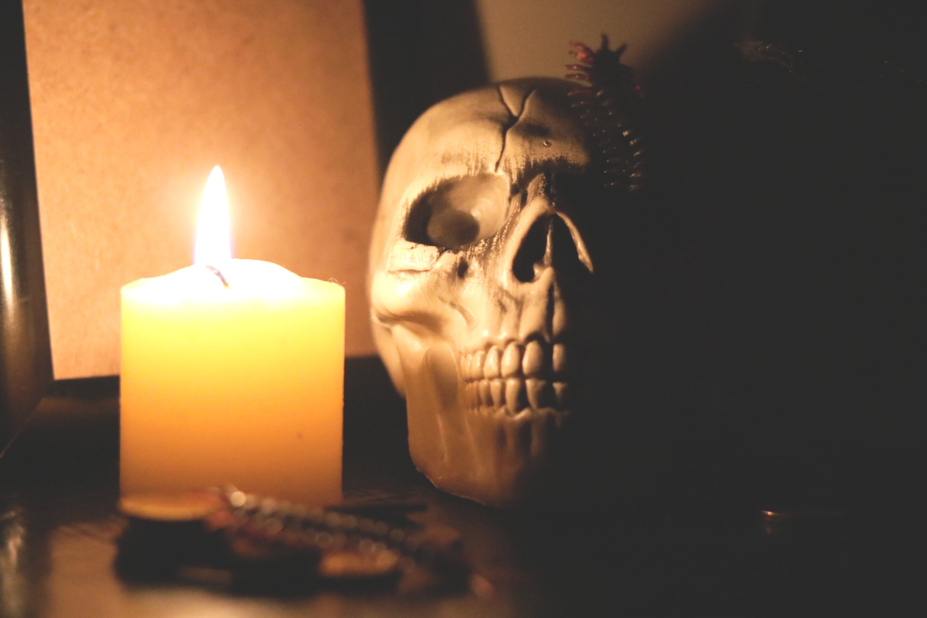Free stock photo of candlelight, halloween, halloween party, horror