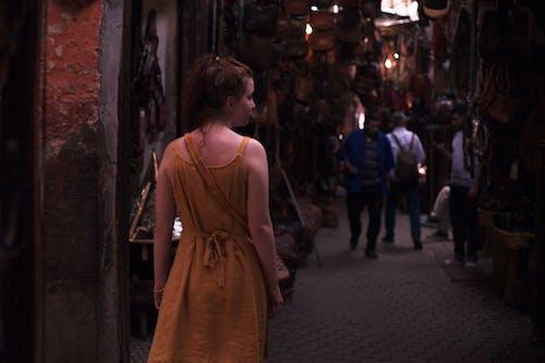 คลังภาพถ่ายฟรี ของ การเดินทาง, ตลาด, ถนน, โมร็อกโก