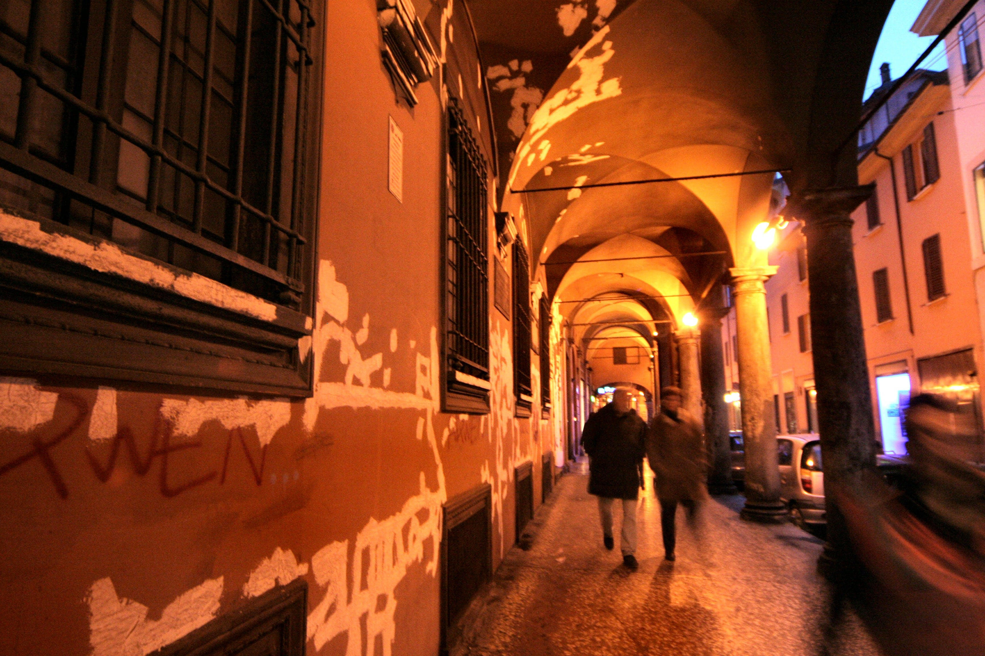 Free stock photo of bologna, italy, light, night