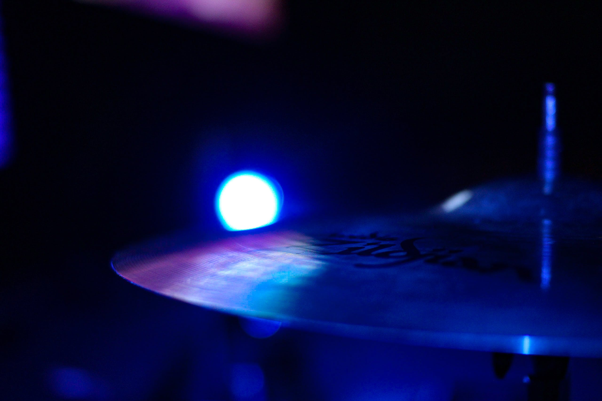 Cymbal Close Up Photography