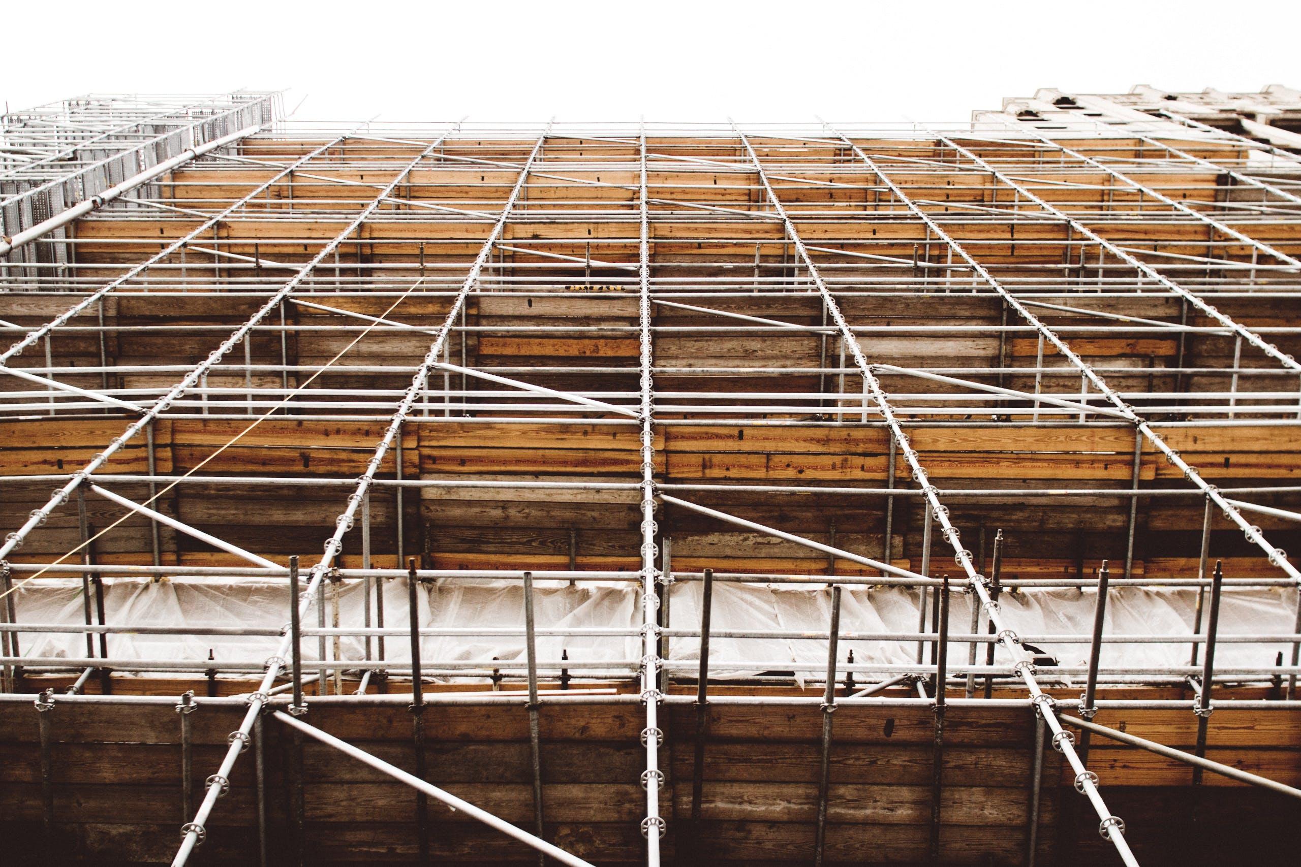 architektur, bau, beton