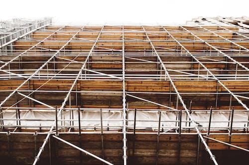 Fotos de stock gratuitas de acero, andamio, arquitectura, construcción