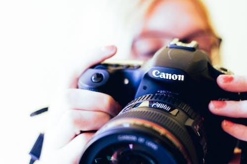 Fotobanka sbezplatnými fotkami na tému analógový, Canon, clona, detailný záber