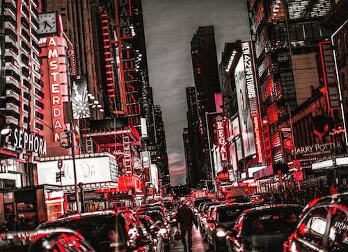 Imagine de stoc gratuită din bucătăria lui hell, Daredevil, luminile orașului, NYC
