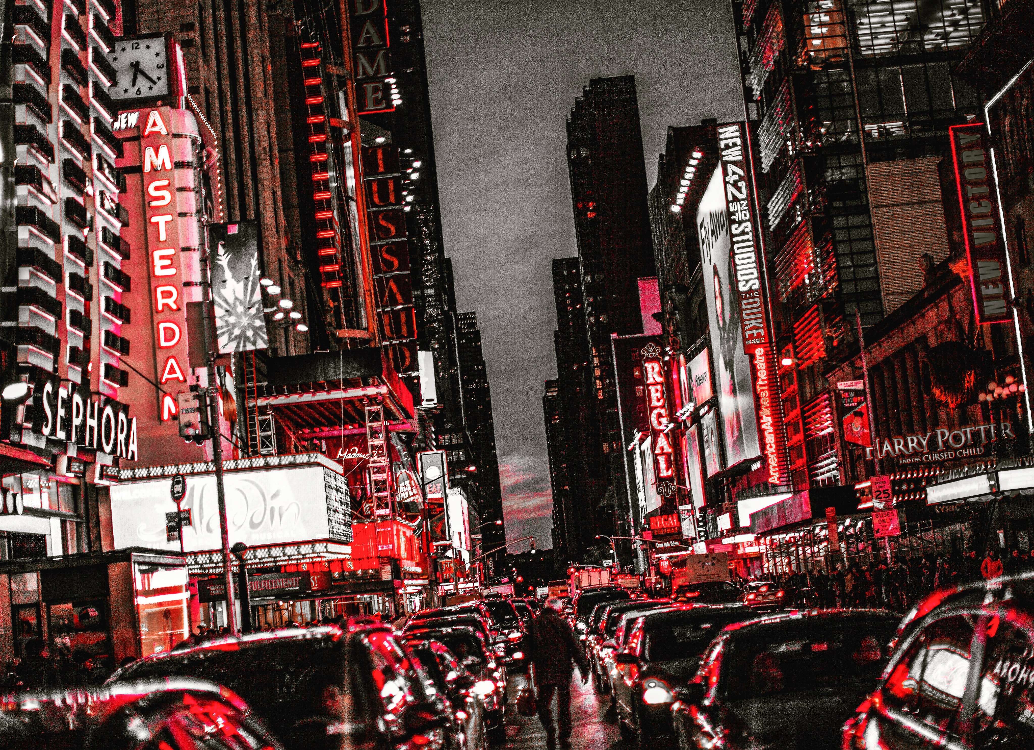 Free Stock Photo Of City Lights Daredevil Hell S Kitchen