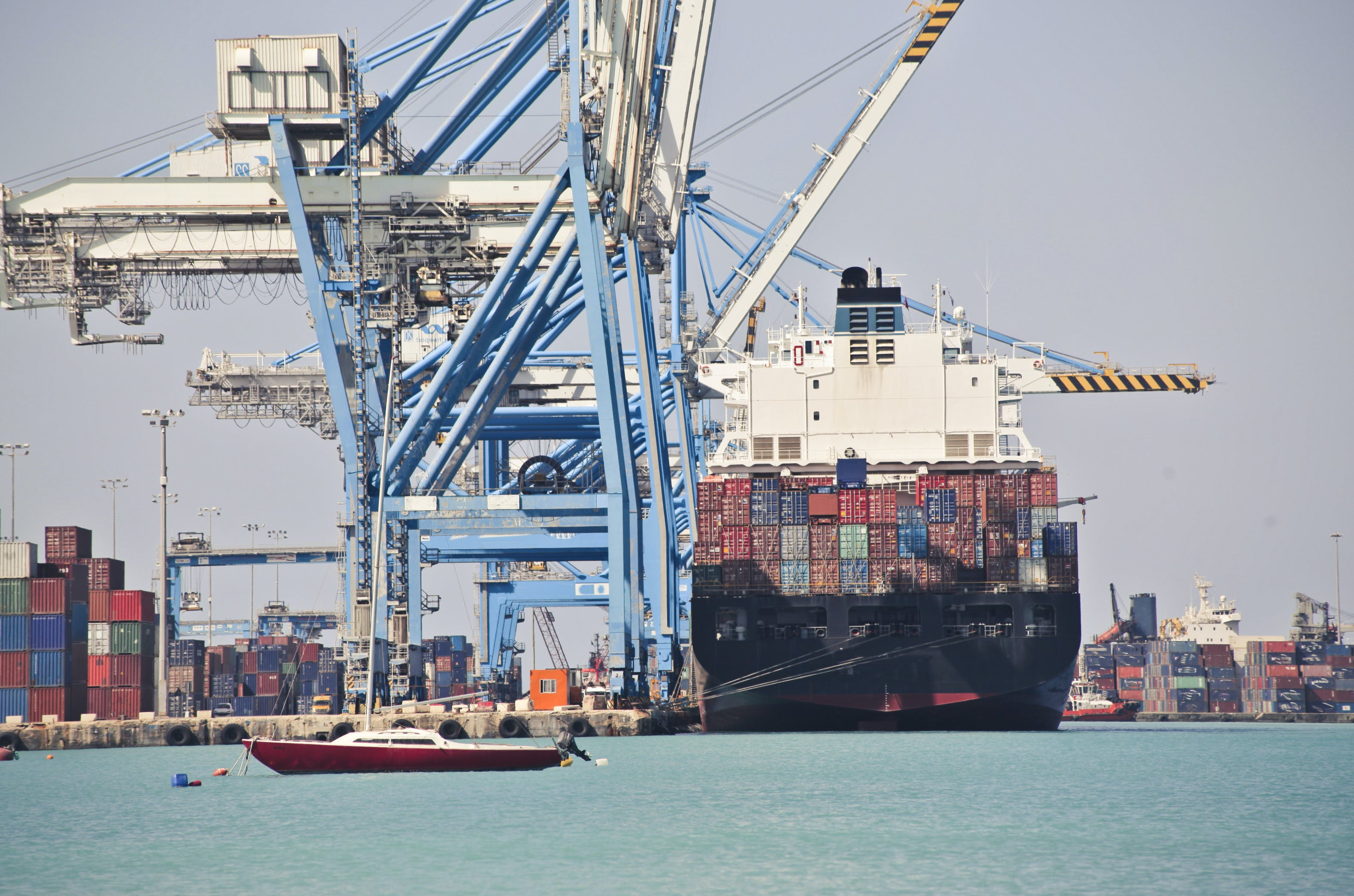 boat, cargo, cargo freight