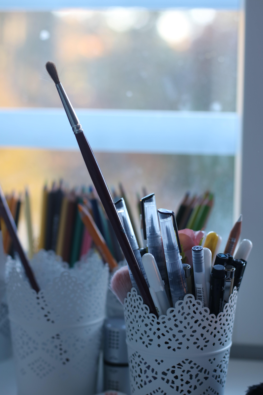 Free stock photo of art, brush, draw