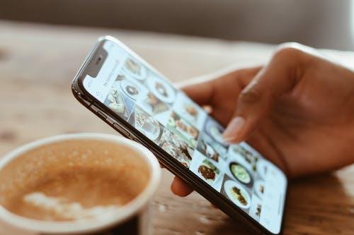 Δωρεάν στοκ φωτογραφιών με instagram, iPhone X, social media