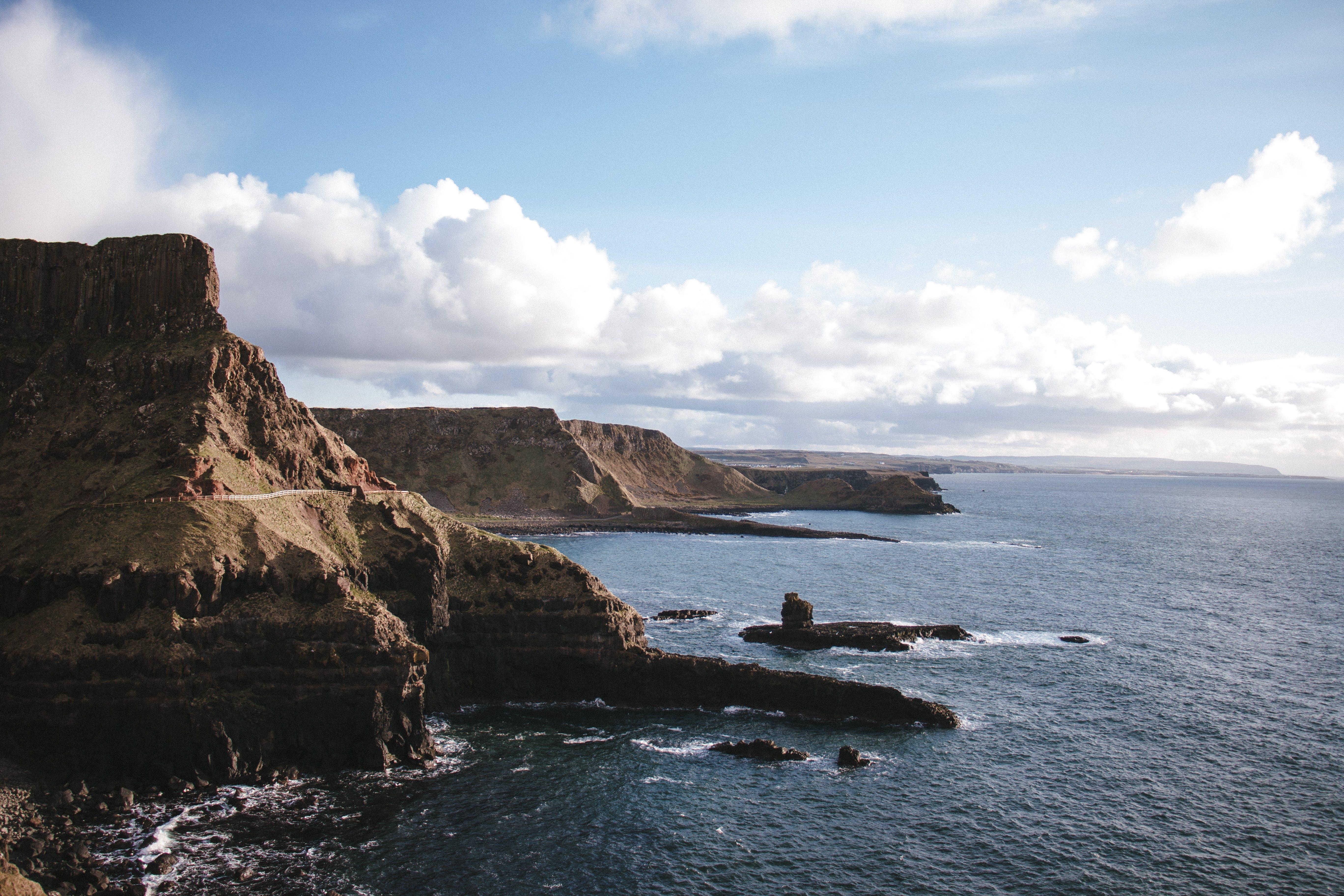 Free stock photo of beauty, cliffs, coast, coastline