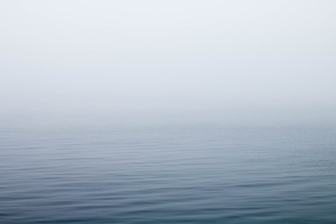 Body of Water Under Fog