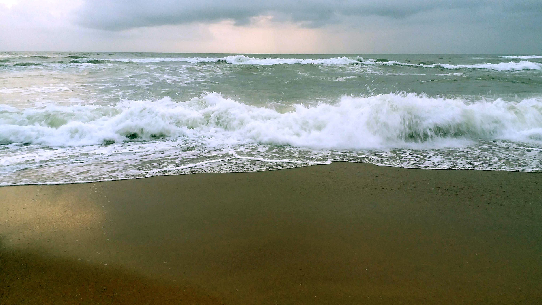 Free stock photo of beach, beach sand, clouds, sea