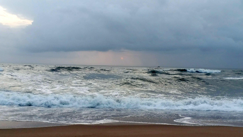 Free stock photo of beach, huge waves, sea, storm