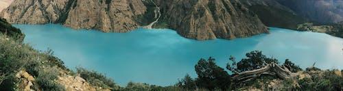 Základová fotografie zdarma na téma cestovní ruch, ledovec, les, modrá