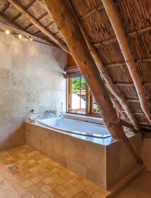 Photo of Bathtub Beside Window