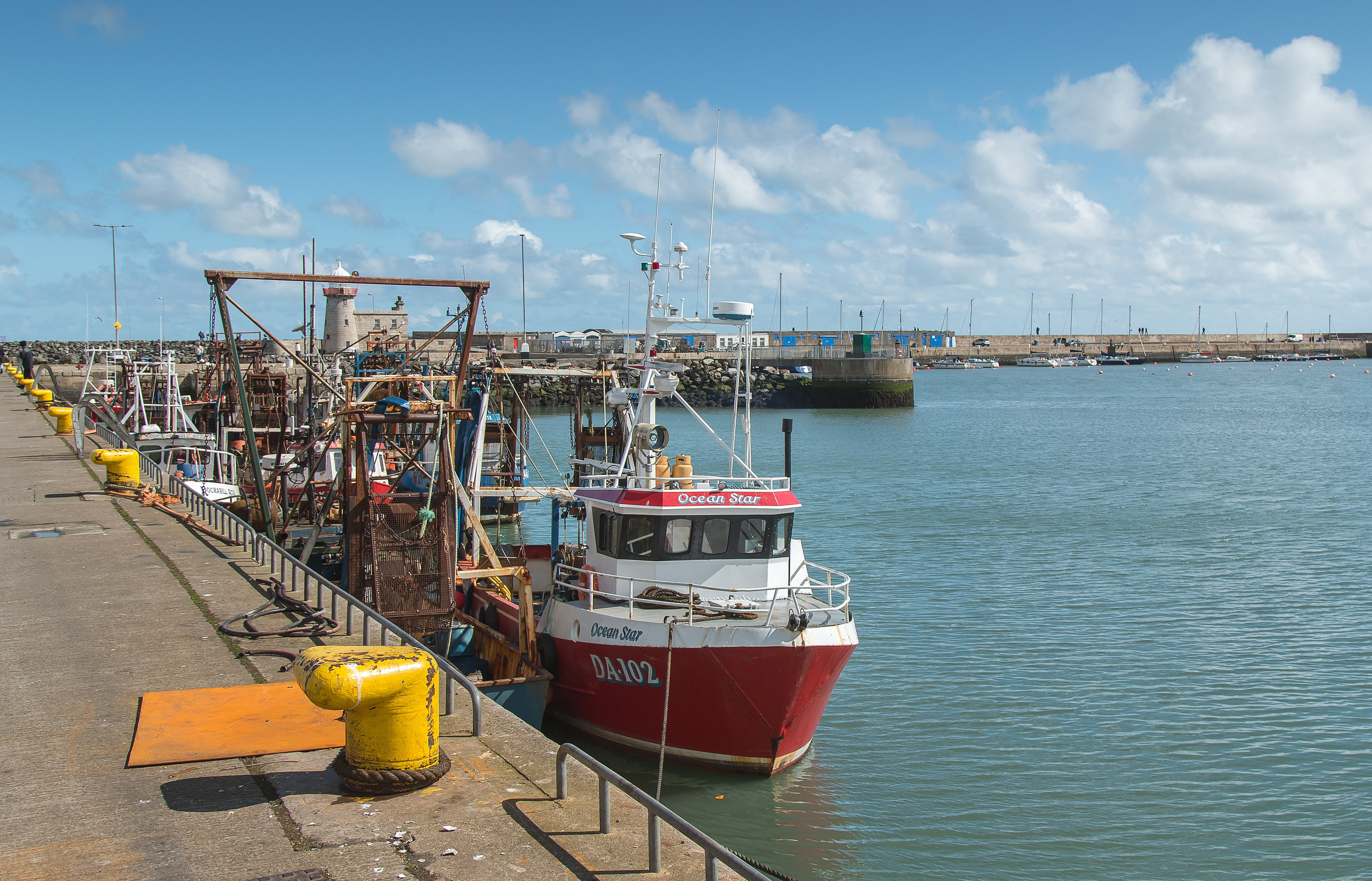 Free stock photo of boat, harbour, howth, port